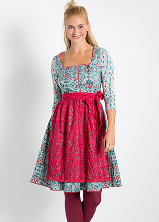 rick rack rattle dress, hay flower harmony